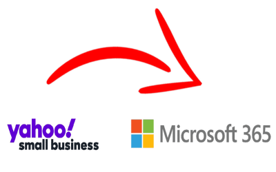 Email Migration from Yahoo Small Business to Microsoft 365 (Office 365)
